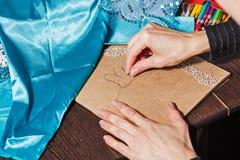 Sketches fashion designer Royalty Free Stock Photo