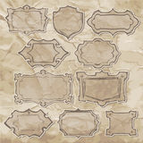 Sketches of frames Royalty Free Stock Image