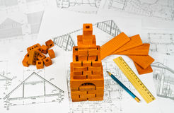 Free Sketches Of The Buildings Stock Images - 23742634