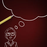 Sketching ideas Stock Photo