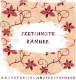 Sketchnote Banner Stock Images