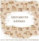 Sketchnote Banner Stock Image