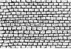 Sketchy Background - Brick Wall Royalty Free Stock Image