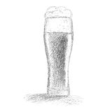 Sketchy Beer Royalty Free Stock Photos