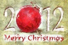 Sketchy christmas Royalty Free Stock Photos