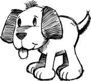 Sketchy Dog Vector Illustration. Cute Sketchy Dog Vector Illustration Stock Photos
