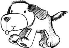 Sketchy Dog Vector Illustration Royalty Free Stock Image