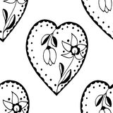 Sketchy Doodle Heart Royalty Free Stock Photo