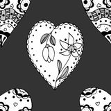 Sketchy Doodle Heart Royalty Free Stock Images