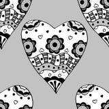 Sketchy Doodle Heart Stock Photos