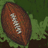Sketchy football background Royalty Free Stock Photography