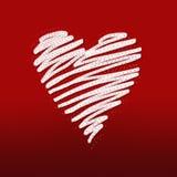 Sketchy heart Royalty Free Stock Photos