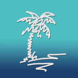 Sketchy palm tree Stock Photos
