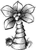 Sketchy Palm Tree Vector Royalty Free Stock Image