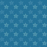 Sketchy stars background. Royalty Free Stock Photography