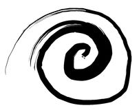 Sketchy vortex vector illustration Royalty Free Stock Photos