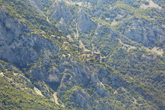 Skete of St. Anne. Mount Athos. Royalty Free Stock Photography