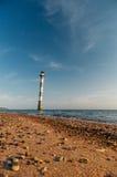 Skew lighthouse in the Baltic sea, Saaremaa, Estonia Royalty Free Stock Photos