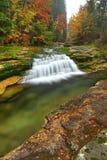Skew waterfall Stock Photo
