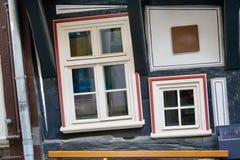 Skew windows Royalty Free Stock Photo