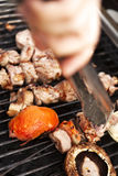 Grillin' Stock Photography