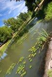Skewed lake. Lake of park of Longview, Washington Stock Photography