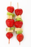 Skewer fruit Stock Images