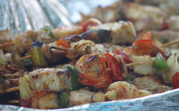 Skewer well-structured Stock Image