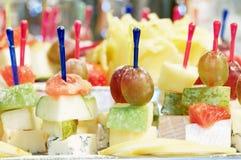 Skewerd Fruit Snack Stock Images