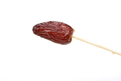 Skewered Date Royalty Free Stock Photo
