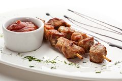 Skewered Meat Stock Photos