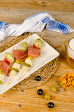 Skewered tapa Stock Images