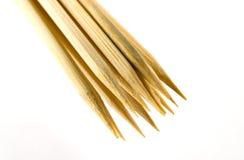 skewers деревянное Стоковое Изображение RF
