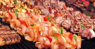 Skewers Stock Image