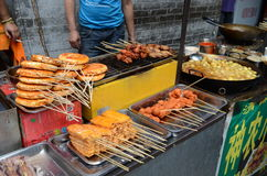 Skewers in China Stock Photography