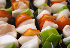 Skewers Royalty Free Stock Image