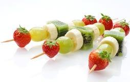 Skewers da fruta Imagem de Stock Royalty Free