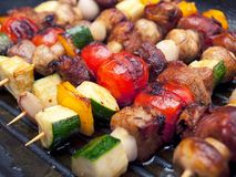 Skewers Royalty Free Stock Photos