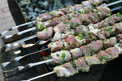 Skewers Stock Images