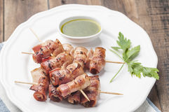 Skewers series 08 Royalty Free Stock Photography