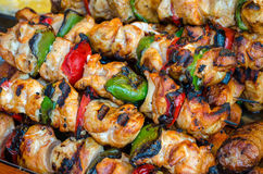 Skewers   Royalty Free Stock Photo