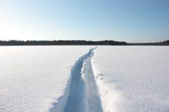 Ski royalty-vrije stock afbeeldingen
