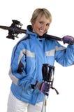 Ski royalty-vrije stock fotografie