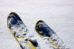 Ski Stock Afbeelding