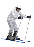 Ski Photo libre de droits