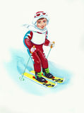 Ski Royalty Free Stock Photography