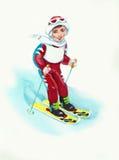 Ski Lizenzfreie Stockfotografie