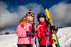 Ski alpin Royalty Free Stock Images
