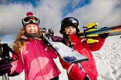 Ski alpin Stock Photography