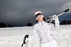 Ski alpin Lizenzfreie Stockbilder